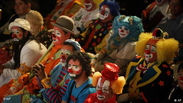 Clown Convention in Mexiko City