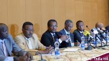 New Political Formation Äthiopien Pressekonferenz