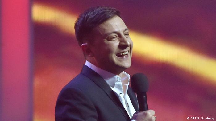 Humorista ucraniano Volodymyr Zelensky