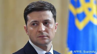 Ukraine Präsidentschaftskandidat Wolodymyr Selenskyj