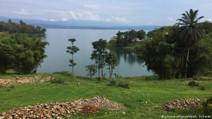 Der Kivusee in Ruanda