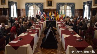 Entre sanciones y diálogo: la UE promueve el encuentro del Grupo Internacional de Contacto para Venezuela, Quito, marzo de 2019