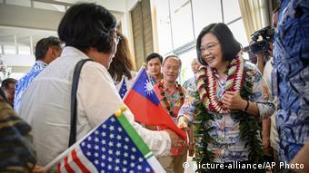 Tsai Ing-wen (picture-alliance/AP Photo)