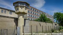 Deutschland Wachturm Stasi-Gedenkstätte Hohenschönhausen in Berlin