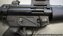 A German Heckler & Koch MP5