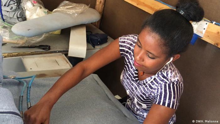 Äthiopien Textilarbeiter in Bahir Dar