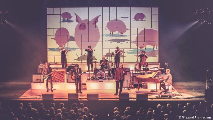 The Analogues auf der Bühne