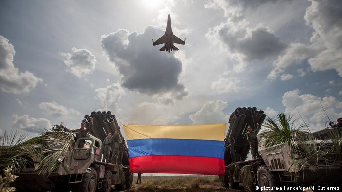 Venezuela russischer Sukhoi SU-30 Kampfjet