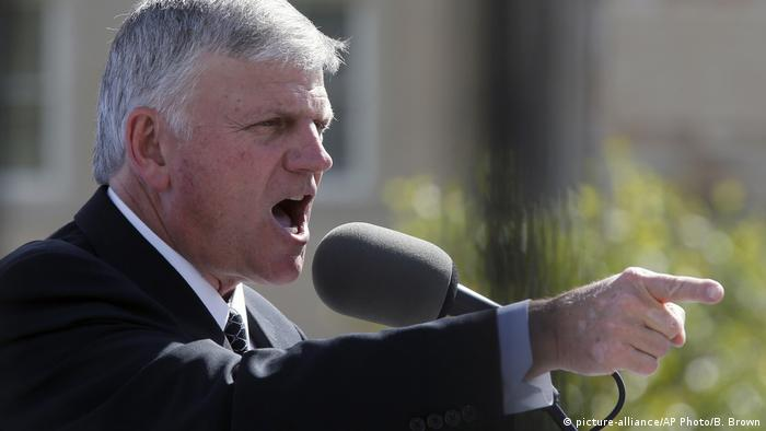Franklin Graham (picture-alliance/AP Photo/B. Brown)