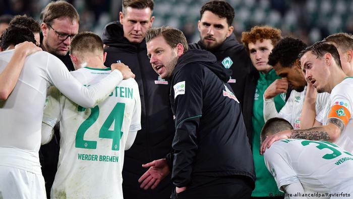 1. Bundesliga   VfL Wolfsburg - Werder Bremen   Florian Kohfeldt