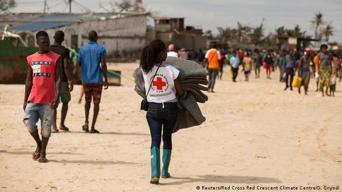 Cruz Vermelha de Moçambique conta com 126 voluntários em cinco distritos do sul de Cabo Delgado (arquivo)