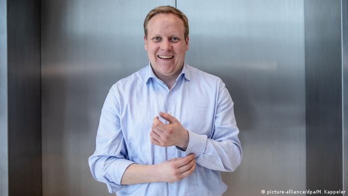 Tilman Kuban, head of the youth wing of Germany's CDU party