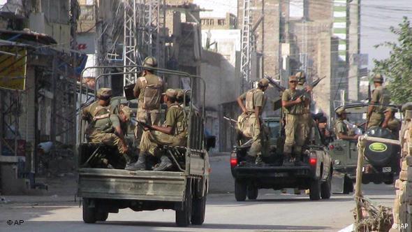 Flash-Galerie Pakistan: Militär in Bannu, Waziristan