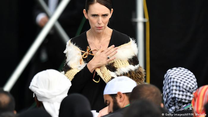 New Zealand Prime Minister Jacinda Ardern (Getty Images/AFP/M. Melville)