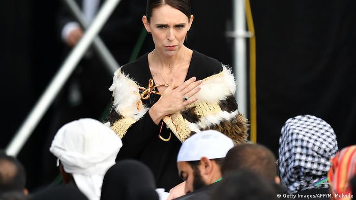Neuseeland Christchurch Trauerfeier nach Terroranschlag