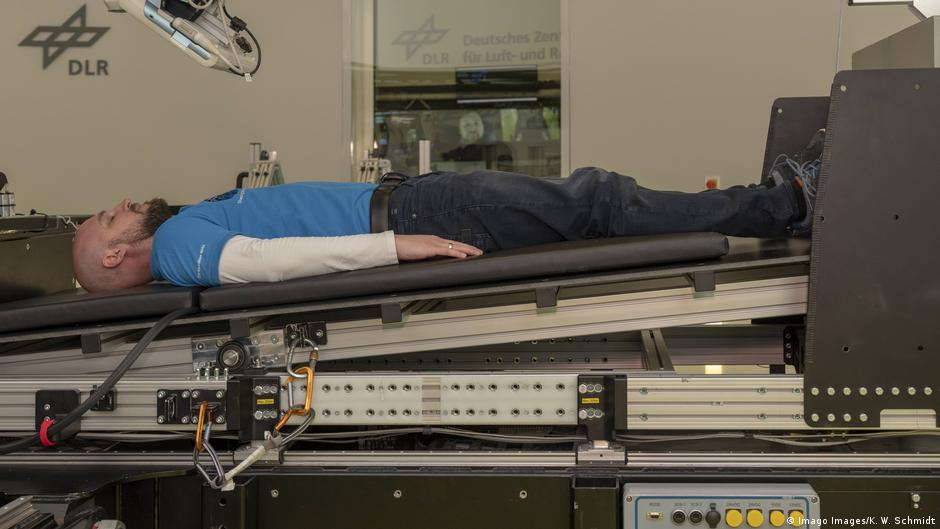 German space scientists will pay you ?16,500 to lie in bed for 60 days | DW | 29.03.2019