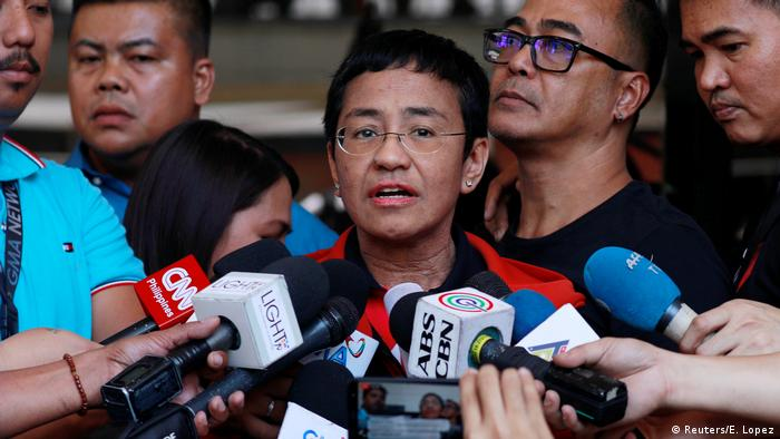 Philipinnen Journalistin Maria Ressa (Reuters/E. Lopez)