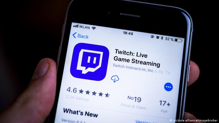 Twitch App (picture-alliance/imagebroker)