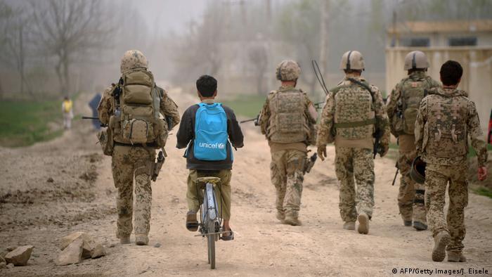 Afghanistan Bundeswehr Soldaten (AFP/Getty Images/J. Eisele)