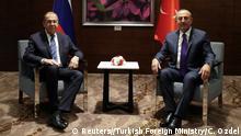Türkei Antalya | Außenminister Sergej Lawrow, Russland & Mevlut Cavusoglu