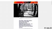 Screenshot - www.nzz.ch - Film «Chris the Swiss