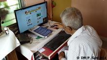 Angst vor Äußerung politischer Meinung im Internet Indien