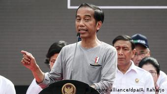 Joko Widodo (picture-alliance/dpa/A. Raharjo)
