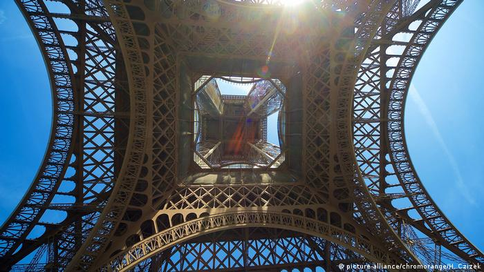 Eiffel Tower (picture-alliance/chromorange/H. Czizek)