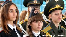 2975569 11/17/2016 Delegates of the regional convention of the Young Army patriotic movement in Krasnodar. Georgiy Zimarev/Sputnik |