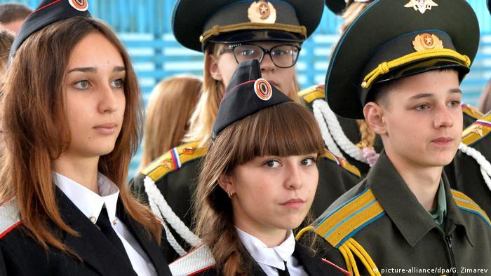 Russland Junarmija in Krasnodar