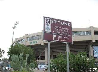 Baseball stadium in Nettuno