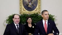 USa Irak Nouri al Maliki bei Barack Obama in Washington