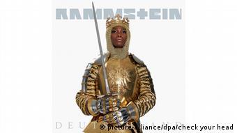 Обкладинка синглу Deutschland рок-гурту Rammstein
