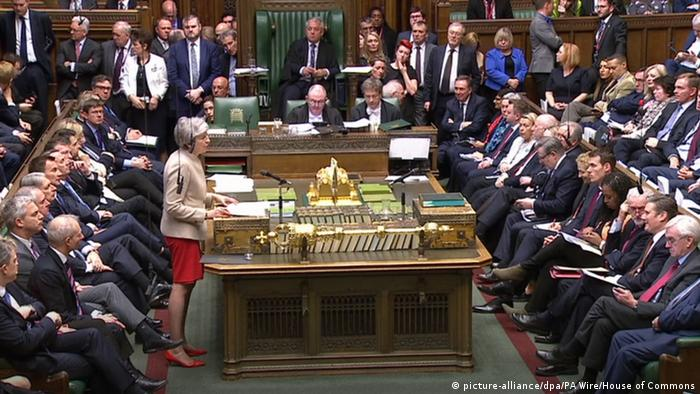 Großbritannien London - Debatte zum Brexit (picture-alliance/dpa/PA Wire/House of Commons)