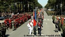 Albanien Tirana Feierlichkeiten 10 Jahre NATO Mitgliedschaft