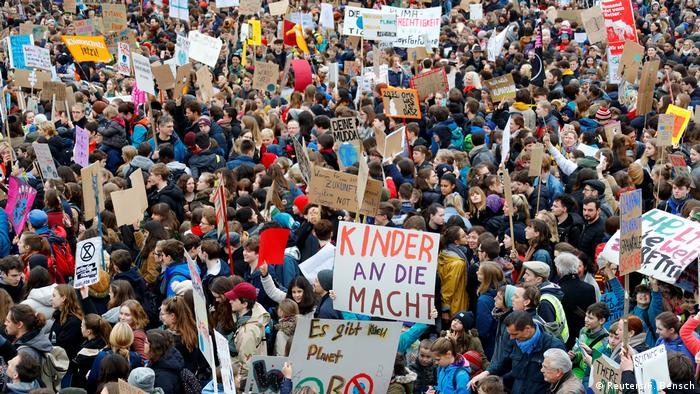 Deutschland Friday for Future Demo Berlin