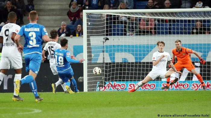 Bundesliga TSG 1899 Hoffenheim - Bayer 04 Leverkusen (picture-alliance/Pressefoto Rudel)