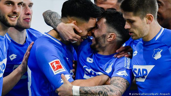 Bundesliga TSG 1899 Hoffenheim v Bayer 04 Leverkusen | Jubel Hoffenheim