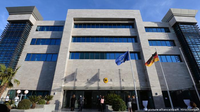 Tunesien, Tunis: Deutsche Botschaft