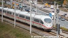 Bayern, Allersberg: Polizei sucht ICE-Strecke nach Stahlseil-Vorfall erneut ab