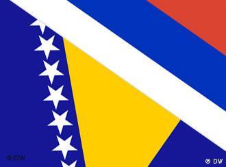 Flagge von Bosnien und Herzegowina und Republika Srpska