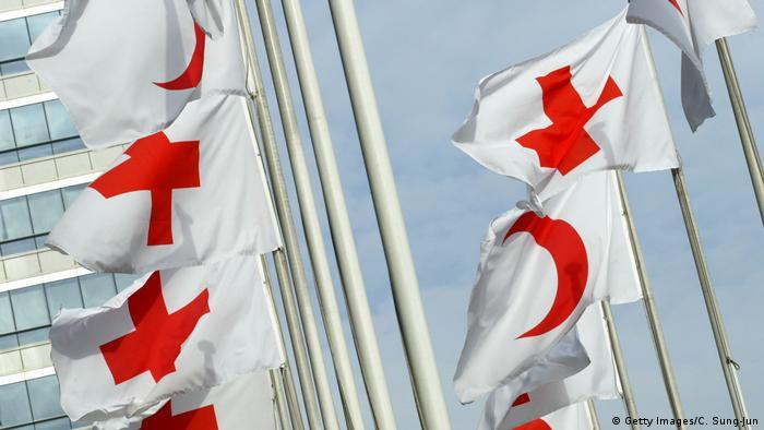 Symbolfoto Internationale Rotkreuz- und Rothalbmond-Bewegung (Getty Images/C. Sung-Jun)