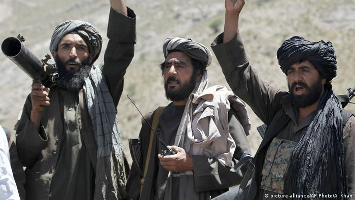 Taliban Extremisten Terroristen Afghanistan (picture-alliance/AP Photo/A. Khan)