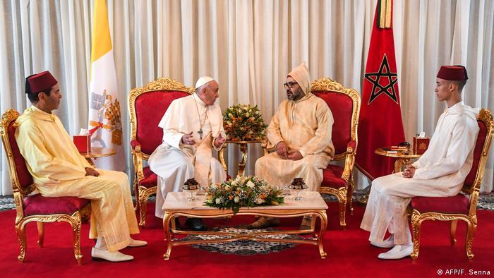 Papst Franziskus besucht Marokko (AFP/F. Senna)