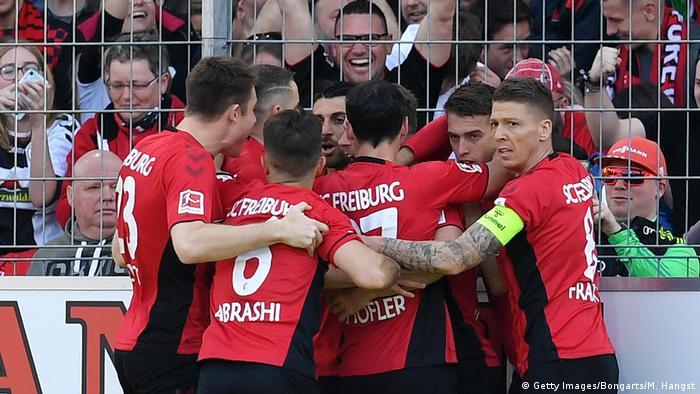 Fußball Bundesliga 27. Spieltag Freiburg - FC Bayern | Jubel