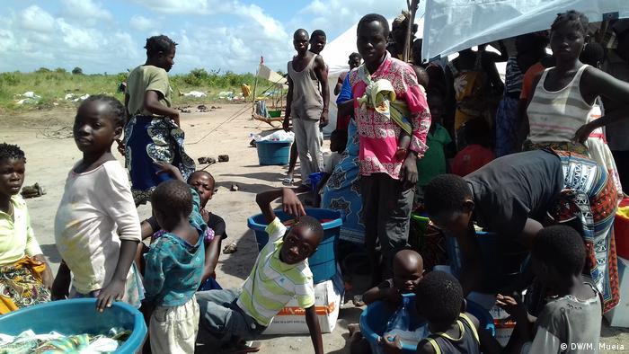 Mosambik | Leben nach der Flutkatastrophe in Zambezia (DW/M. Mueia)