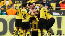 Fußball Bundesliga   27. Spieltag   Borussia Dortmund - VfL Wolfsburg   Tor 1:0