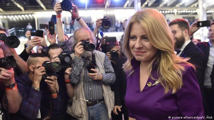 Slowakei, Bratislava: Präsidentenwahl in der Slowakei – Stichwahl (picture-alliance/dpa/V. Álek)