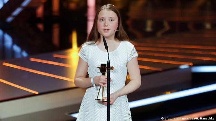 Preisverleihung der Goldenen Kamera - Greta Thunberg