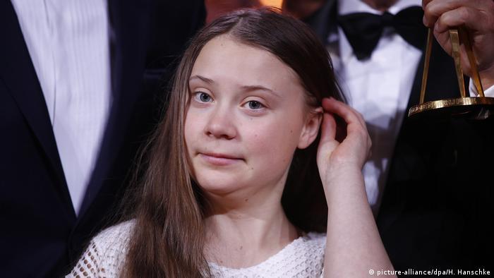 Greta Thunberg - mit 16 schon die Initiatorin einer weltweiten Protestbewegung (Foto: picture-alliance/dpa/H. Hanschke)